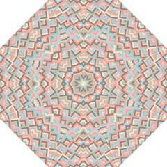 Trendy Chic Modern Chevron Pattern Folding Umbrellas