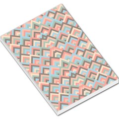 Trendy Chic Modern Chevron Pattern Large Memo Pads