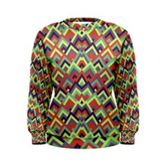 Trendy Chic Modern Chevron Pattern Women s Sweatshirts