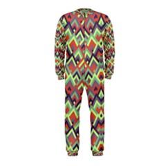 Trendy Chic Modern Chevron Pattern Onepiece Jumpsuit (kids)