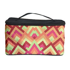 Trendy Chic Modern Chevron Pattern Cosmetic Storage Cases
