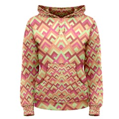 Trendy Chic Modern Chevron Pattern Women s Pullover Hoodies