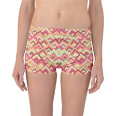 Trendy Chic Modern Chevron Pattern Boyleg Bikini Bottoms