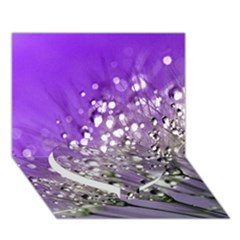 Dandelion 2015 0706 Heart Bottom 3D Greeting Card (7x5)