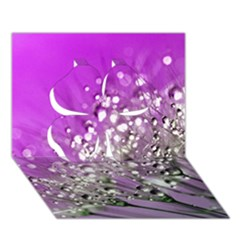 Dandelion 2015 0707 Clover 3d Greeting Card (7x5)