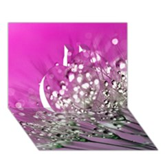 Dandelion 2015 0708 Apple 3d Greeting Card (7x5)