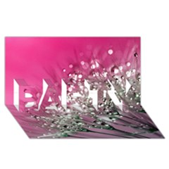 Dandelion 2015 0709 Party 3d Greeting Card (8x4)