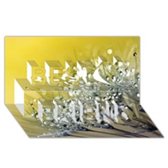 Dandelion 2015 0713 Best Friends 3D Greeting Card (8x4)