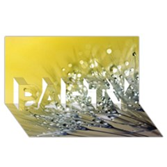 Dandelion 2015 0713 PARTY 3D Greeting Card (8x4)