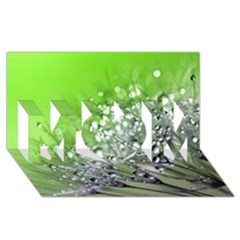 Dandelion 2015 0715 MOM 3D Greeting Card (8x4)