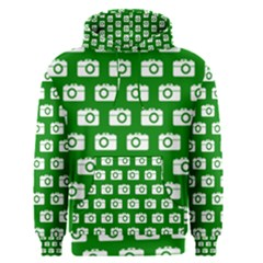 Modern Chic Vector Camera Illustration Pattern Men s Pullover Hoodies