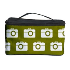 Modern Chic Vector Camera Illustration Pattern Cosmetic Storage Cases