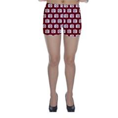 Modern Chic Vector Camera Illustration Pattern Skinny Shorts