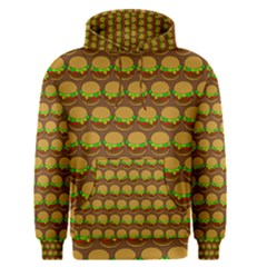 Burger Snadwich Food Tile Pattern Men s Pullover Hoodies