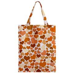 Heart 2014 0903 Zipper Classic Tote Bags
