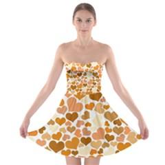 Heart 2014 0903 Strapless Bra Top Dress