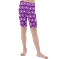 Gerbera Daisy Vector Tile Pattern Kid s swimwear