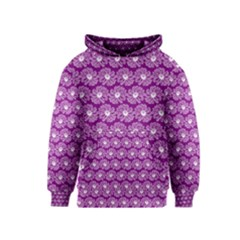 Gerbera Daisy Vector Tile Pattern Kid s Pullover Hoodies