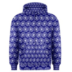 Gerbera Daisy Vector Tile Pattern Men s Zipper Hoodies