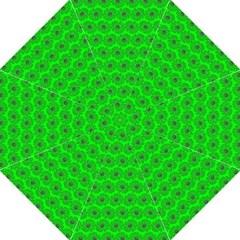 Gerbera Daisy Vector Tile Pattern Hook Handle Umbrellas (Large)