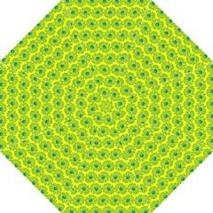 Gerbera Daisy Vector Tile Pattern Hook Handle Umbrellas (Medium)