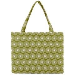 Gerbera Daisy Vector Tile Pattern Tiny Tote Bags