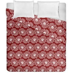 Gerbera Daisy Vector Tile Pattern Duvet Cover (double Size)