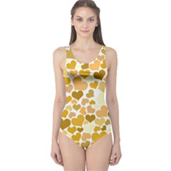 Heart 2014 0904 Women s One Piece Swimsuits