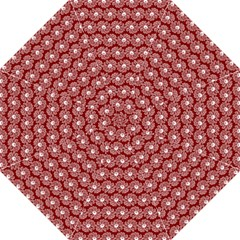 Gerbera Daisy Vector Tile Pattern Folding Umbrellas