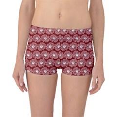 Gerbera Daisy Vector Tile Pattern Boyleg Bikini Bottoms