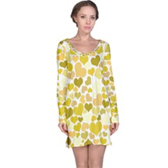 Heart 2014 0905 Long Sleeve Nightdresses