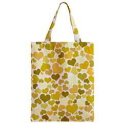 Heart 2014 0905 Zipper Classic Tote Bags