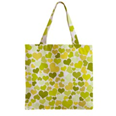 Heart 2014 0906 Zipper Grocery Tote Bags