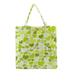 Heart 2014 0907 Grocery Tote Bags