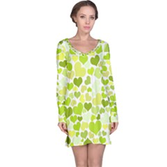 Heart 2014 0907 Long Sleeve Nightdresses