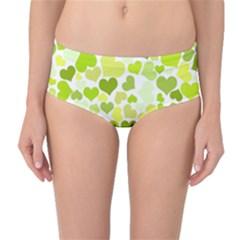 Heart 2014 0907 Mid Waist Bikini Bottoms