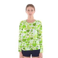 Heart 2014 0908 Women s Long Sleeve T-shirts