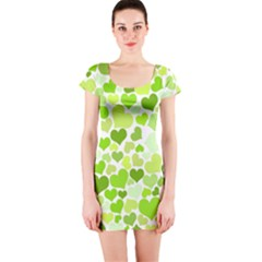 Heart 2014 0908 Short Sleeve Bodycon Dresses