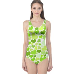 Heart 2014 0908 Women s One Piece Swimsuits