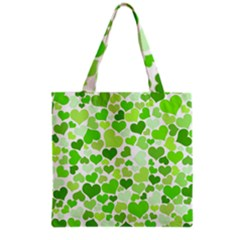 Heart 2014 0909 Grocery Tote Bags