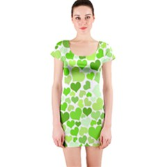 Heart 2014 0909 Short Sleeve Bodycon Dresses