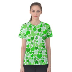 Heart 2014 0911 Women s Cotton Tees