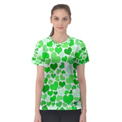 Heart 2014 0912 Women s Sport Mesh Tees