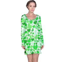 Heart 2014 0912 Long Sleeve Nightdresses