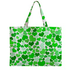 Heart 2014 0912 Zipper Tiny Tote Bags