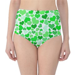 Heart 2014 0912 High Waist Bikini Bottoms