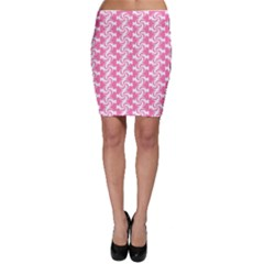 Cute Candy Illustration Pattern For Kids And Kids At Heart Bodycon Skirts