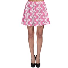 Cute Candy Illustration Pattern For Kids And Kids At Heart Skater Skirts