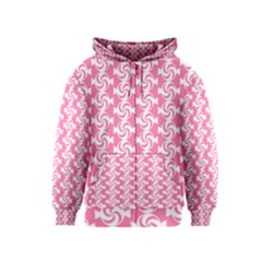 Cute Candy Illustration Pattern For Kids And Kids At Heart Kids Zipper Hoodies