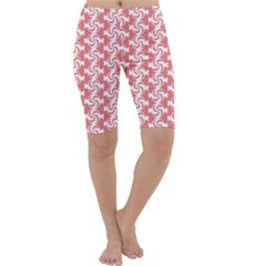 Candy Illustration Pattern  Cropped Leggings